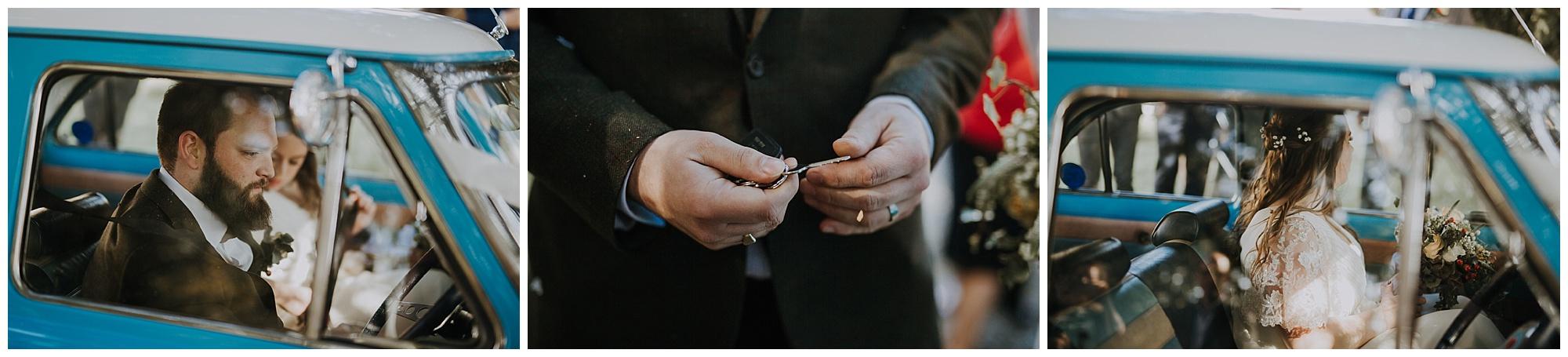 ford anglia and keys