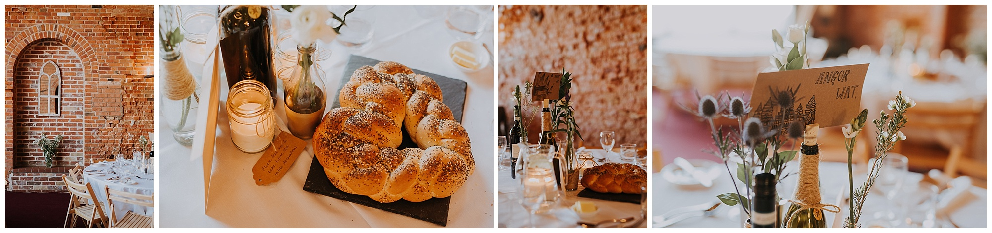 details including fresh bread