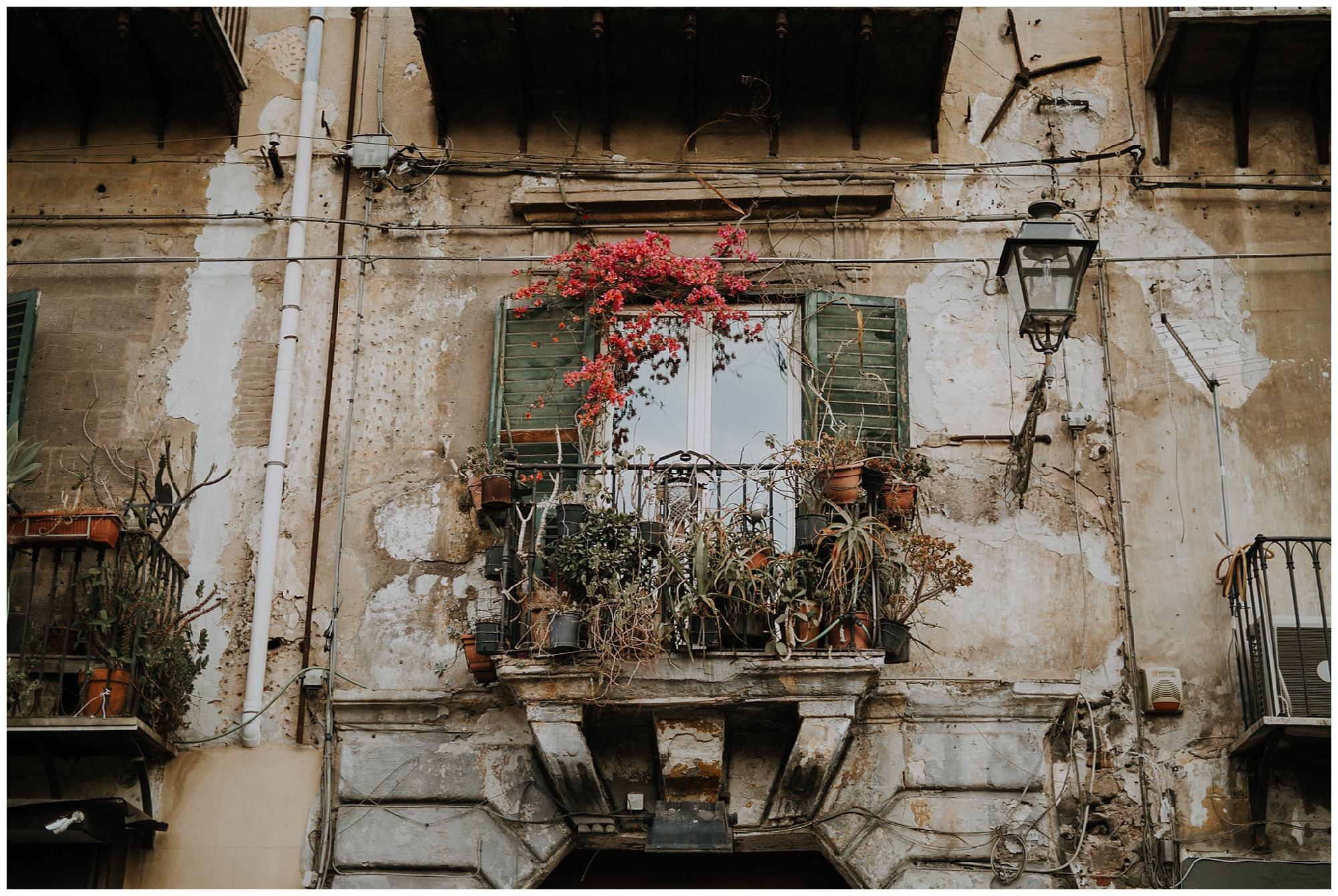 a rustic window