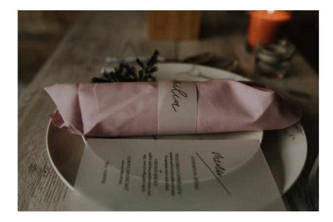 various wedding table settings