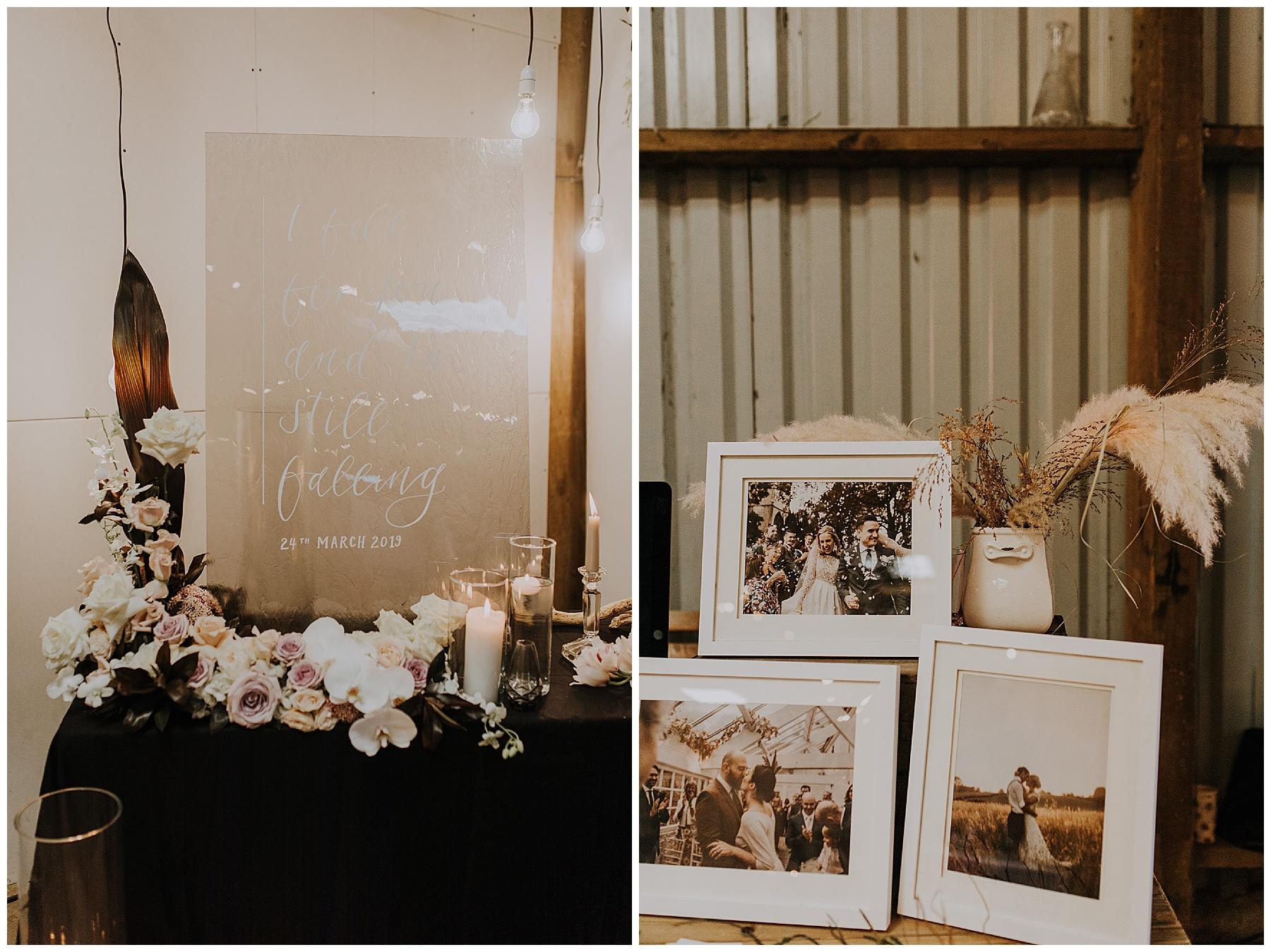 styled setups for wedding fair