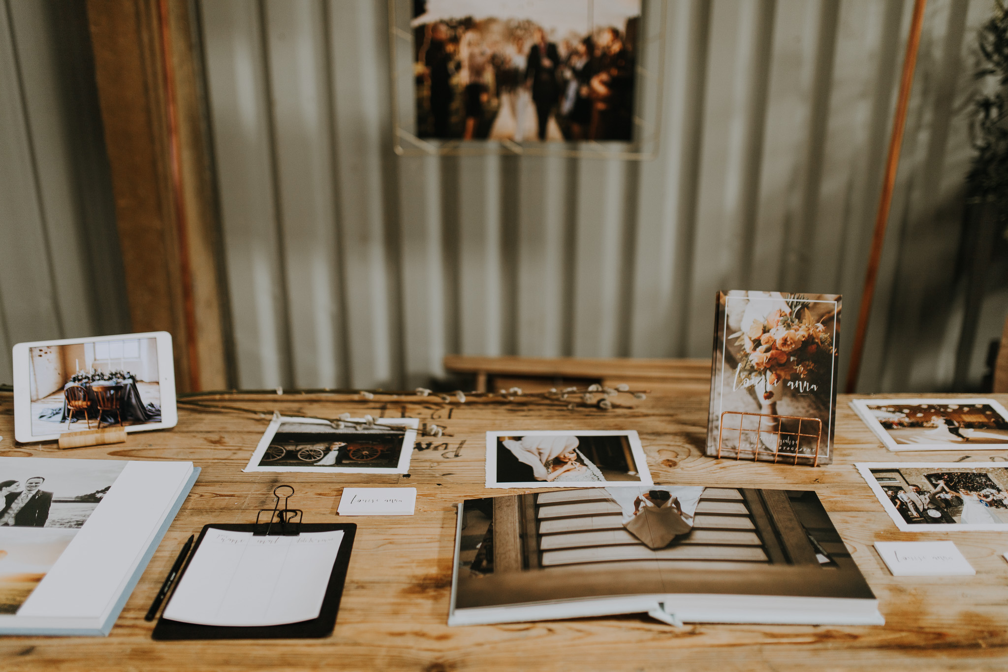 photography wedding fair stand Louise Anna
